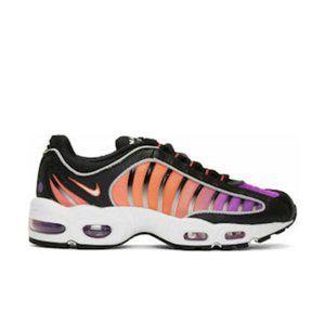 Mens Nike Air Max Tailwind IV Black Sneakers / Sho